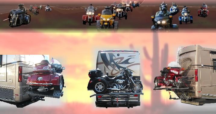 Harley Tri Glide Honda Goldwing Trike