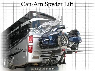 HP Can Am Spyder Lift