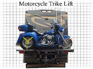HP Motorcycle Trike Lift