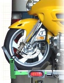 Tie Down Goldwing motorcycle