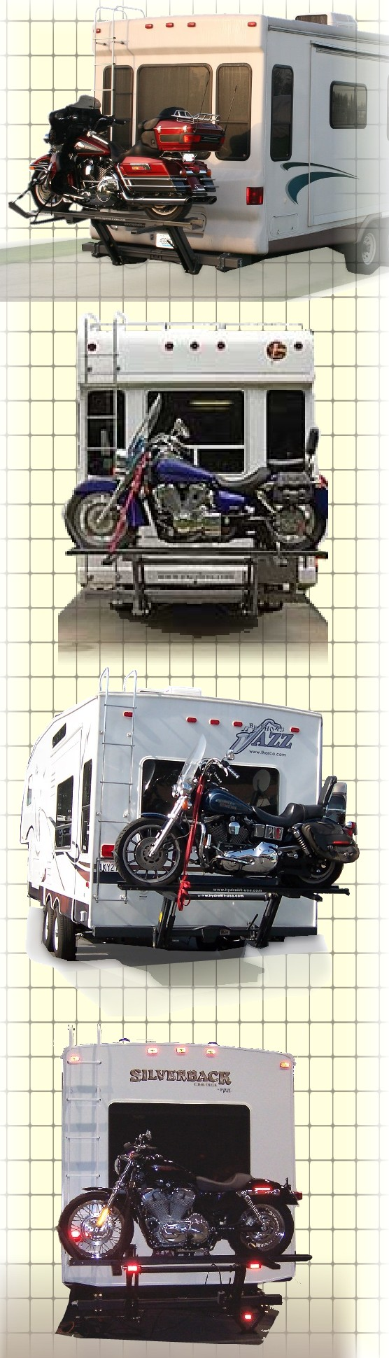 motorcycle 5th wheel