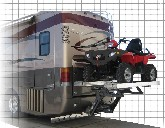 ATV lift for motorhome