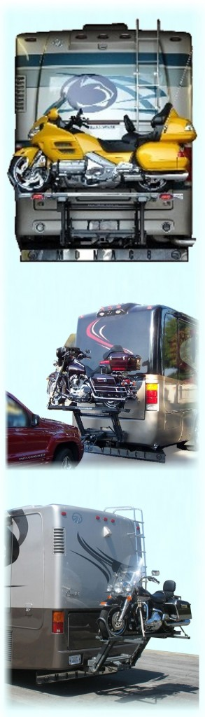 motorhome rv motorcycle lift rv