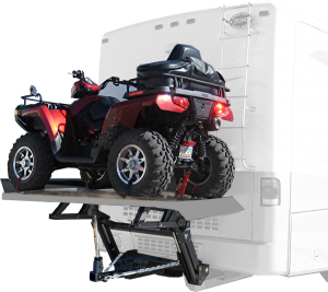 ATV on Motorhome Hydralift