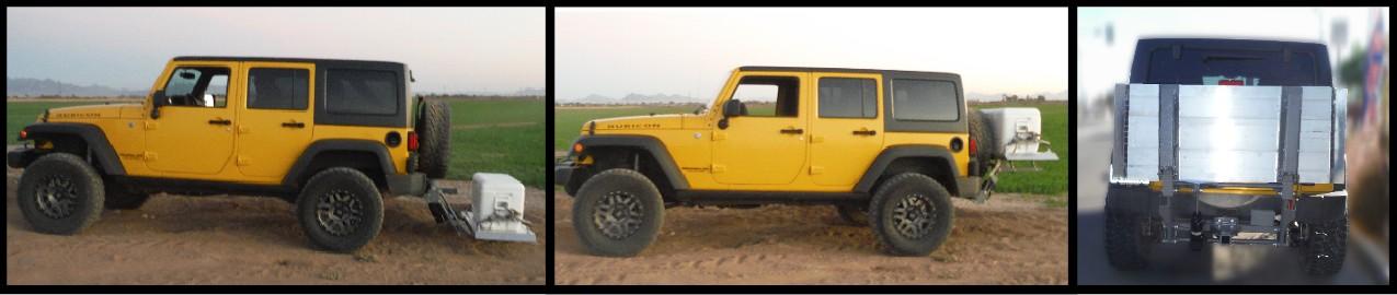 Jeep cargo Lift