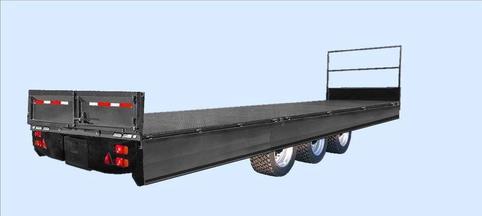 Hydraulic folding sides by Hydralift