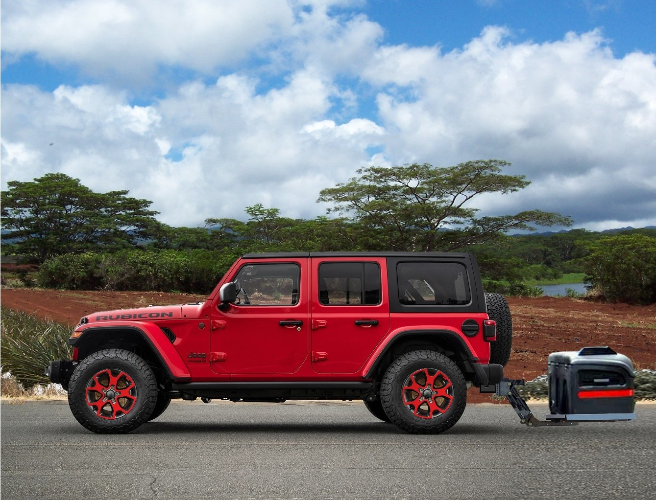 Jeep Cargo Carrier